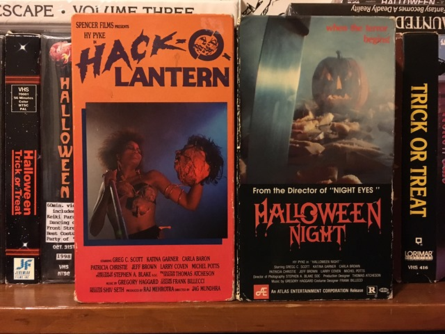 VHS Hack o Lantern Halloween Night VHS releases
