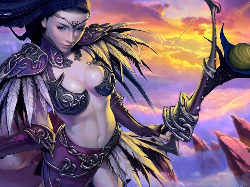 Mysterious Charmer Of Fair, Fantasy Girls 1