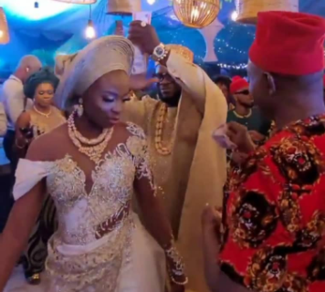 Photos and Videos from comedian, Crazeclown's wedding