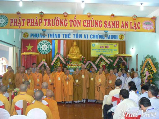 Đại hội Đại biểu Phật giáo Tp. Quy Nhơn thành công tốt đẹp.