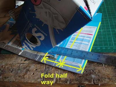 Fold half way