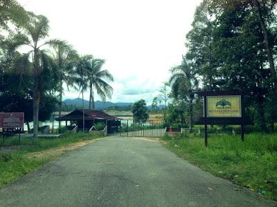 Mutiara Pedu Lake - closed