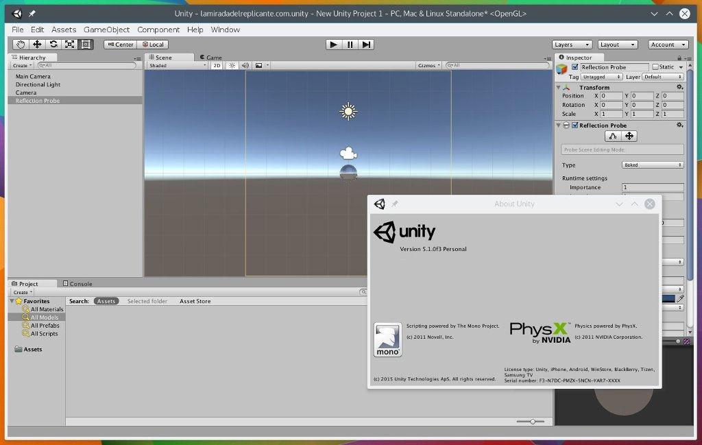 El Editor De Juegos De Unity Llega A Linux
