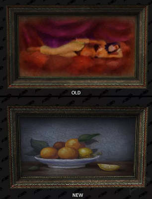 Two paintings with sexual content have been replaced in World of Warcraft.