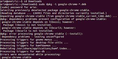 chrome2 Cara Install Google Chrome Terbaru di Ubuntu 11.10 Oneiric
