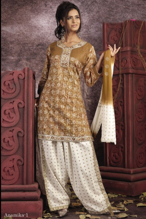 Latest fashion trends in salwar kameez