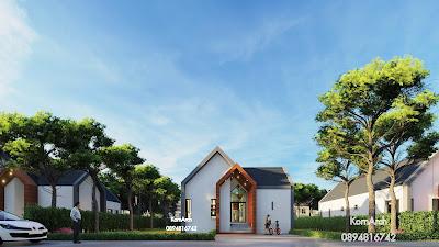 แบบบ้านชั้นเดียวสไตล์นอร์ดิก  เจ้าของอาคารบริษัท นานนท์ พร็อพเพอร์ตี้ จำกัด  สถานที่ก่อสร้าง อ.เมือง จ.สุราษฎร์ธานี