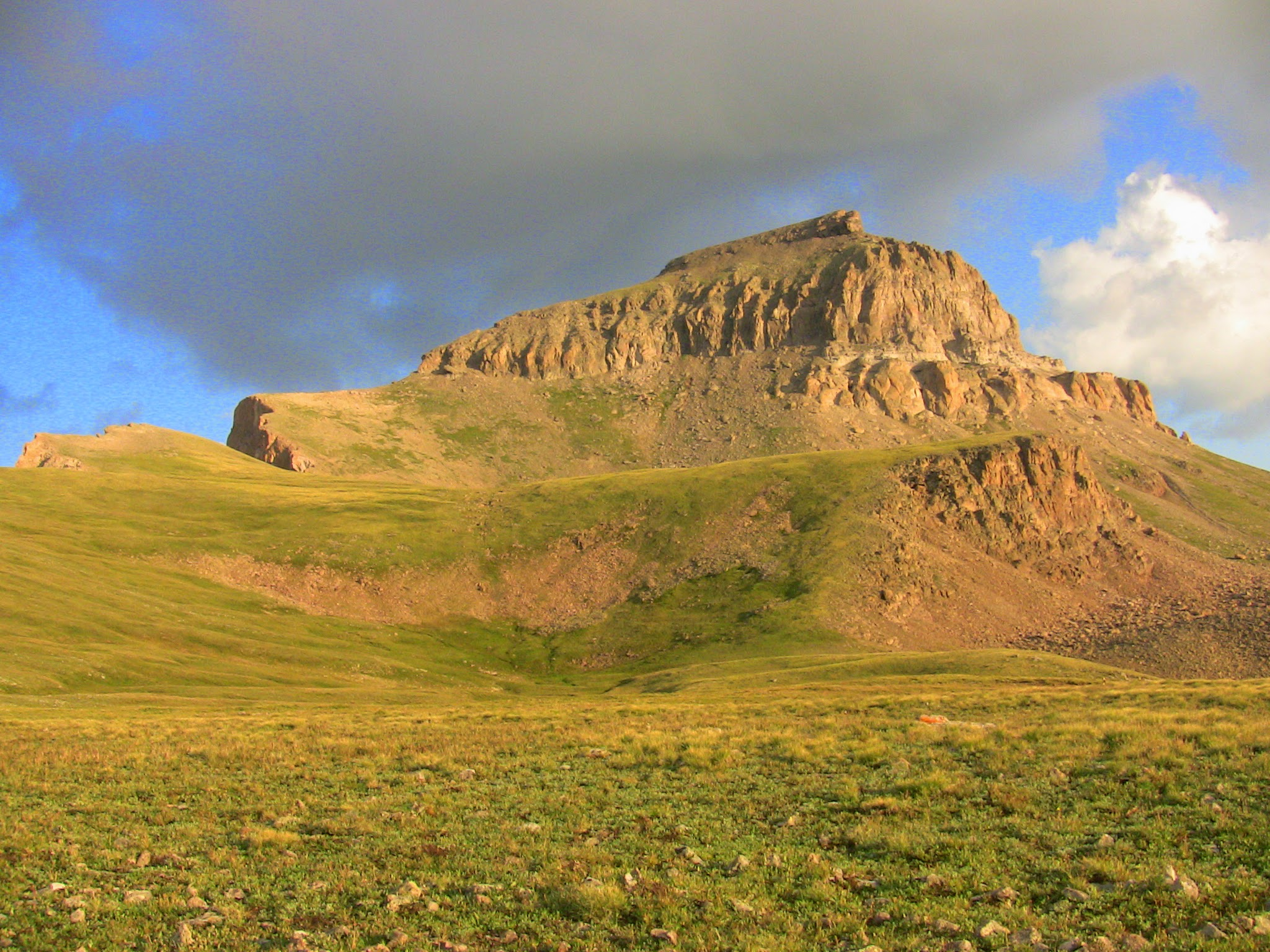Parting Sot of Uncompahgre