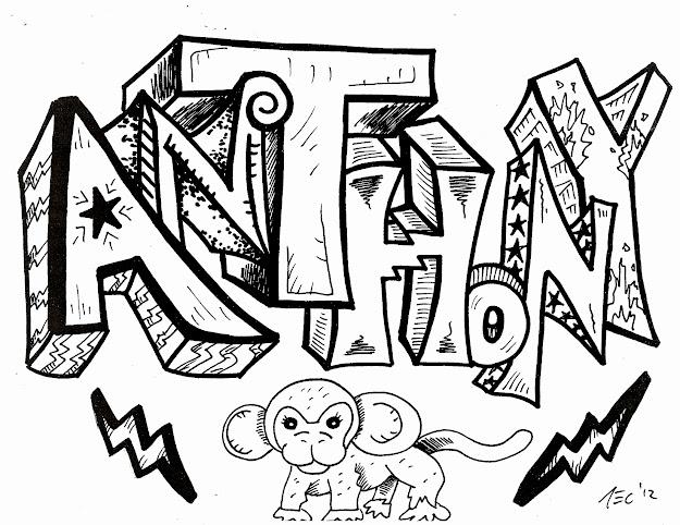 Graffiti Letters  Girly Graffiti Letters