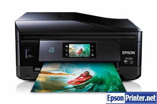 Download reset Epson XP-820 printer tool