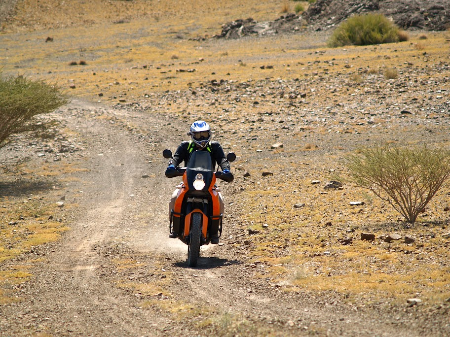 KTM 990 Adventure to Hatta Dam