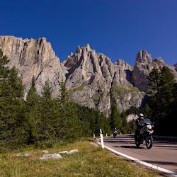 Mototouren Südtirol, Dolomiten und Trentino