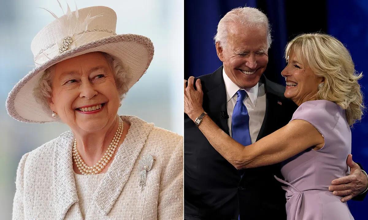 The Queen will meet US President Joe Biden and First Lady Jill Biden