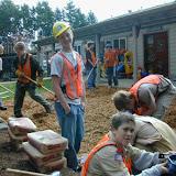 Scott LaValla\'s Eagle Project - April 2002