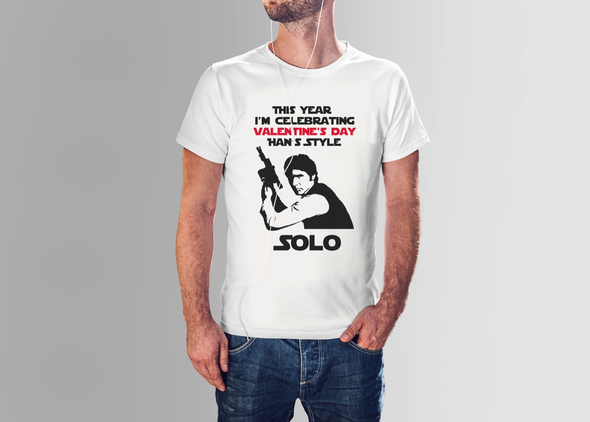 Han Solo on Tshirt