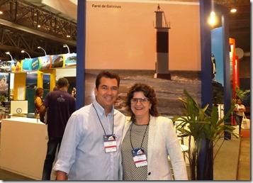Ruy Gaspar e Aninha Costa