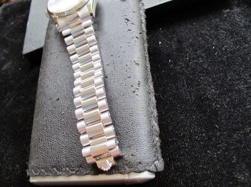 Bán đồng hồ rolex day date – model 118239 – vàng trắng 18k – mặt xà cừ – size 36mm
