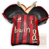 14. kép: Formatorták (fiúknak) - AC Milan mez torta