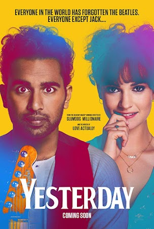 Poster Of Hollywood Film Watch Online Yesterday 2019 Full Movie Download Free Watch Online 300MB