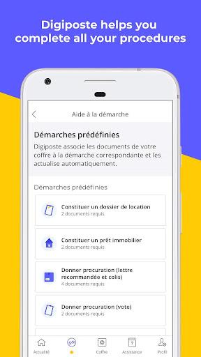 Digiposte screenshot 8