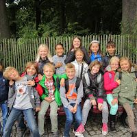4e leerjaar op bezoek in Bokrijk