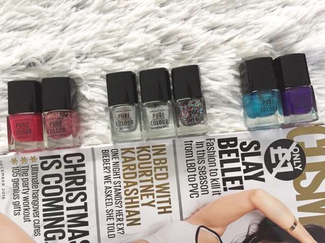 Festive Nails With Newlook