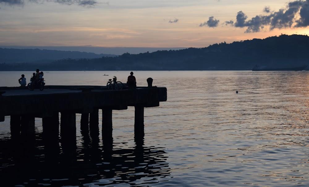 lovely sunset in Leyte
