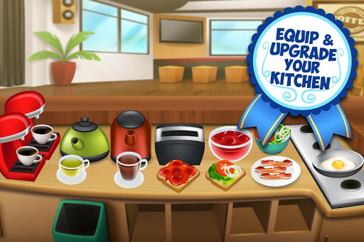 Code Triche My Coffee Shop - Cafétéria mod apk screenshots 4