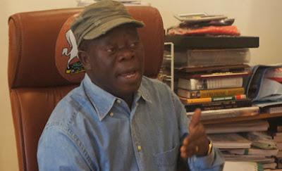 Oshiomhole denies senatorial ambition