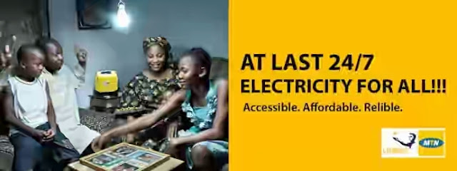 MTN Providing Solar Powered Electricity At An Affordable Rate