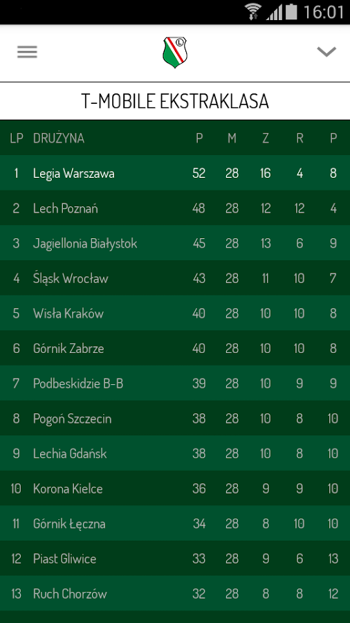 Legia- screenshot