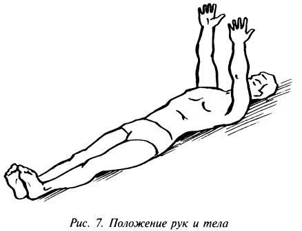 Положение рук и тела