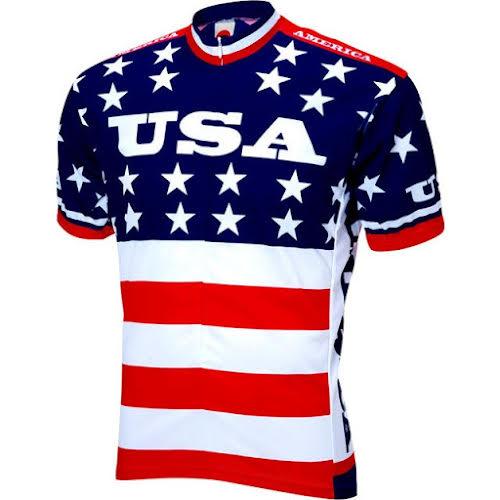 World Jerseys Team USA 1979 Retro Cycling Men's Jersey