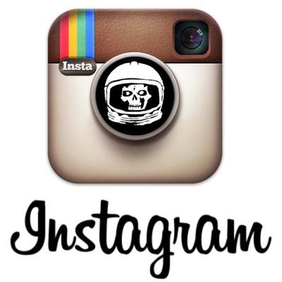 skullface astronaut instagram
