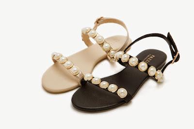 Black / Gold Glamor Sandal $69.00