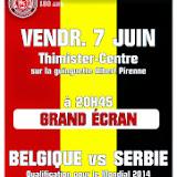 Belgique - Serbie