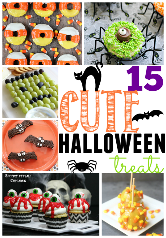 15 Cute Halloween Treats at GingerSnapCrafts.com #Halloween #treats_thumb[1]