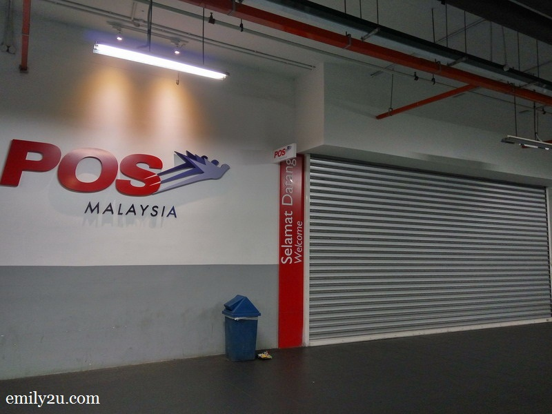 Pos Malaysia, Tesco Medan Ipoh | From Emily To You