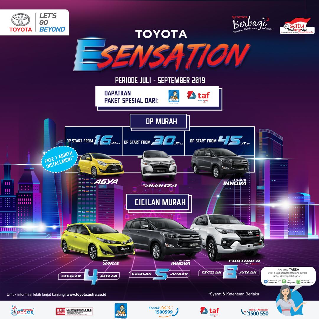 #nandhatoyota  #ACC  #TAF  #AndalanFinance  #ToyotaESensation  #ToyotaAgya  #ToyotaAvanza  #ToyotaInnova  #ToyotaYaris  #ToyotaFortuner  #promo  #nandhatoyotakudus  #exploretoyota