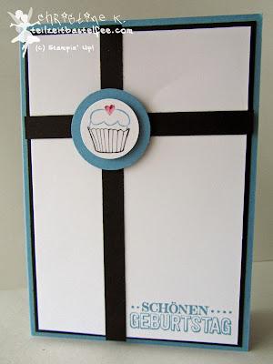 Stampin' Up! - In{k}spire_me #189, Sketch Challenge, Male Birthday Card, Geburtstagskarte Mann, Dein Tag, Another Great Year, Zum großen Tag, SAB, Sale-a-Bration