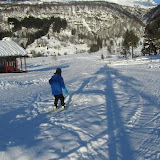 Område for skileik rundt skihytta.
