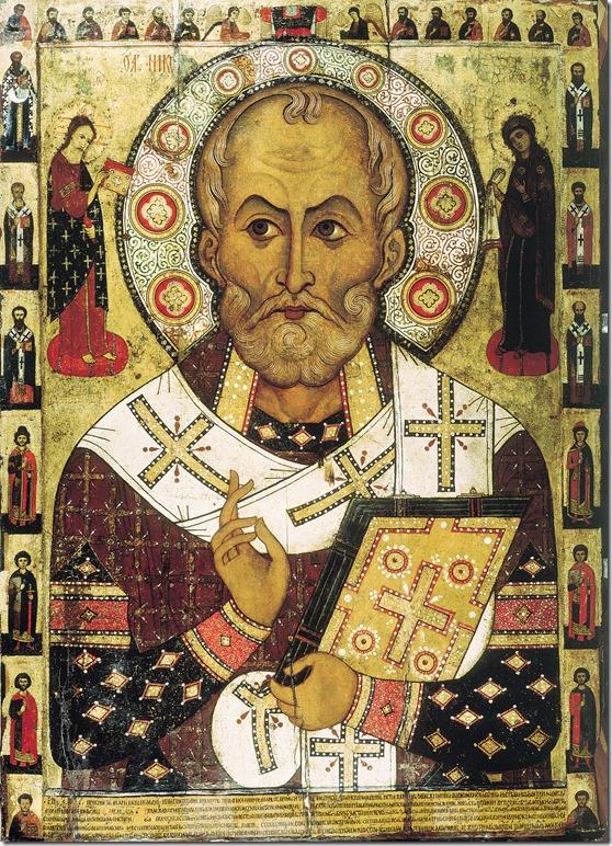 Nikolaus von Myra Ikone Aleksa Petrov 1294