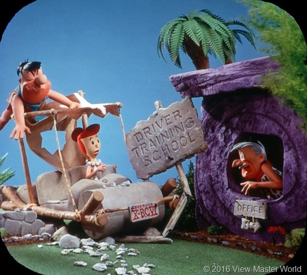 View-Master The Flintstones (B514) Reel 3 Scene 6