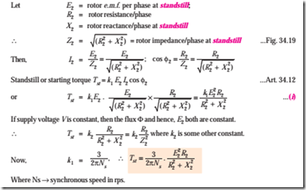 equation of power and torque relationship
