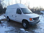 Ford E350 High Top Commercial Van 2006, V8 White 155k