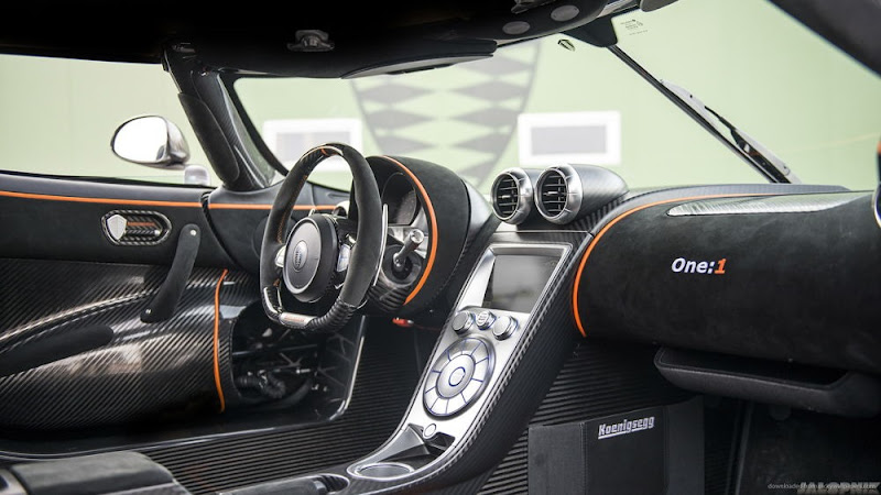 Koenigsegg One:1 Interior