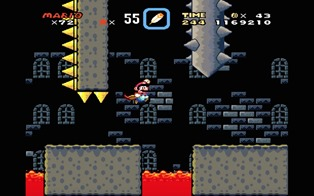 valley fortress super mario world