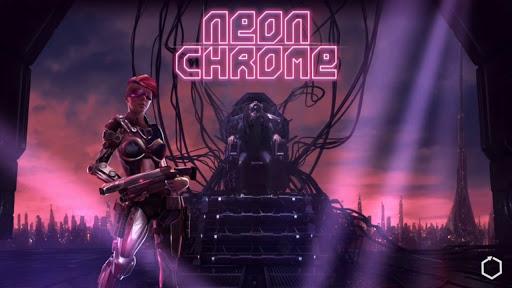 Neon Chrome APK OBB DATA