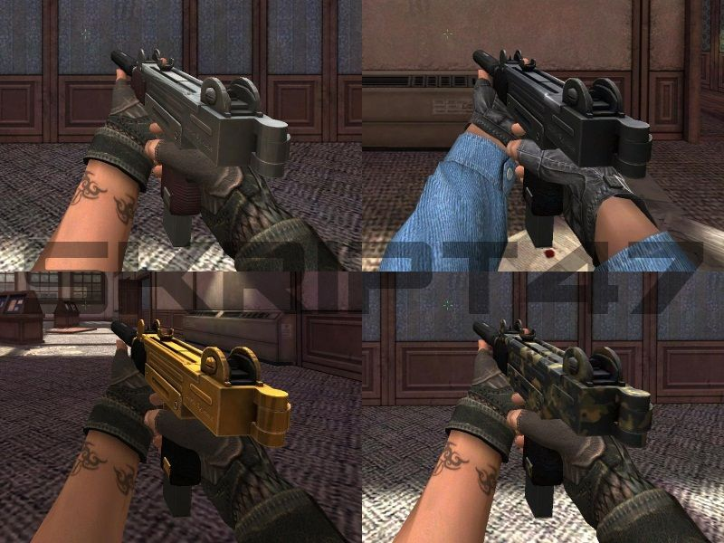 Скриншоты UZI-Glock Mod для Point Blank