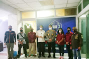 Jalin Kemitraan Dengan Insan Pers, Kabidhumas Polda Kalteng Silaturahmi Ke Kantor DPW IPJI Kalteng